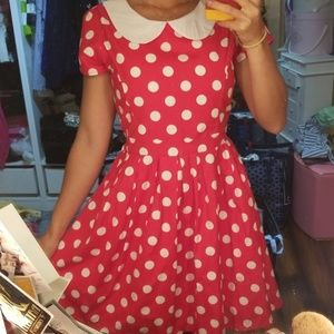 Bonne Chance Collections Minnie Mouse dress